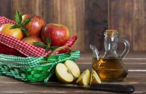 Применение уксуса из яблок для кожи
